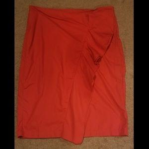 Red Skirt w/ruffle